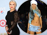 'I'm a fat girl. Get over it!': Curvy Christina Aguilera hits back at record executives following their concerns about her weight