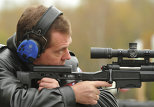 Dmitry Medvedev – armed