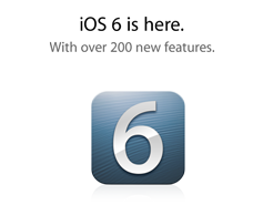 iOS 6 is here. With over 200 new features.