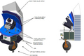 The Sentinel Space Telescope to monitor asteroids.