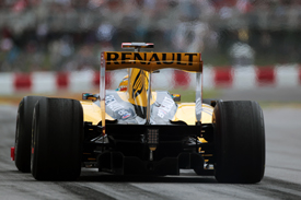 Vitaly Petrov, Renault, Montreal 2010