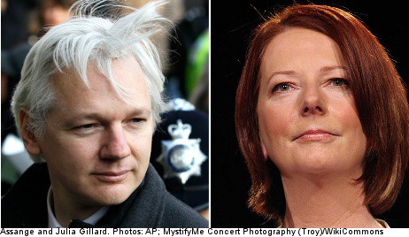 Assange in bid to sue Australian prime minister
