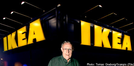 'I am too busy to die': Ingvar Kamprad