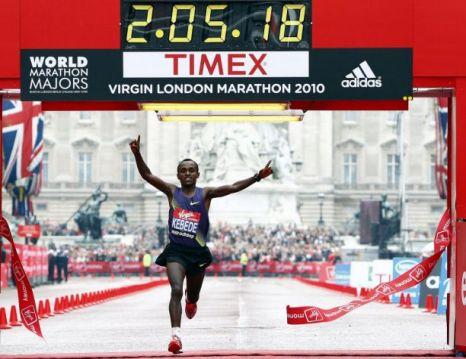 Tsegaye Kebede London Marathon
