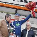 A jubliant stage 6 winner Jose Joaquin Rojas Gil (Movistar Team)