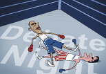 Obama, Romney Square off in First Debate