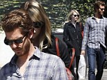 Swot a pair! Andrew Garfield and Emma Stone go on romantic book shopping date