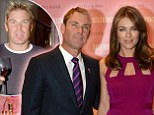 'He's au naturel!' Elizabeth Hurley says she's not responsible for fiancé Shane Warne's makeover.. as she insists he has NOT had any surgery