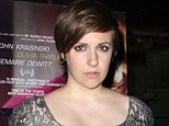 Hot property: Lena Dunham's book proposal has reportedly ignited a bidding war between five publishers