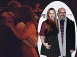 Pictured: Amber Tamblyn, 29, and David Cross, 48, share wedding day dance as longtime couple get married