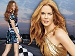 Nicole Kidman graces Harper's Bazaar's November cover, on newsstands October 23
