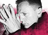 His name's Bond: Rankin's take on Daniel Craig is featured in The Hunger Magazine's third issue