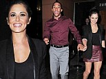 His and hers outfits! Cheryl Cole and Tre Holloway wear matching colours to enjoy date night together