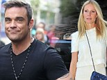 Robbie Williams left red-faced after calling Gwyneth Paltrow's daughter Apple... 'Melon'!