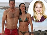 A shirtless Scott Speedman and his Last Resort co-star Camille show some affection while vacationing in Hawaii