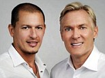 Engaged: Rubem Robierb and Sam Champion are set to be married on New Year's Eve in New York and Miami