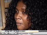 Mirlande Wilson, 37, from Baltimore, Maryland, claimed to be one of the three lucky winners of a Mega Millions jackpot in April, then refused to say where she had hidden her 'winning ticket', and would only reveal it was 'some place safe.'