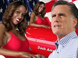She likes Mitt: Stacey Dash took to Twitter to urge voters to pick Mitt Romney for President, along with a sexy picture of herself