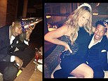 American Idol star Mariah Carey and her husband Nick Cannon were all smiles as the two celebrated his 32nd birthday