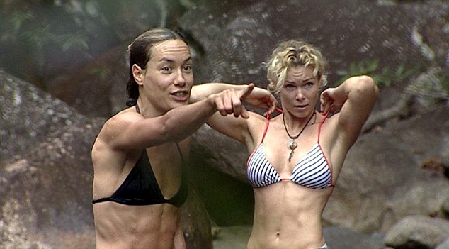 Popular: Tara Palmer-Tomkinson, pictured with Nell McAndrew on the reality show, was runner-up to Tony Blackburn
