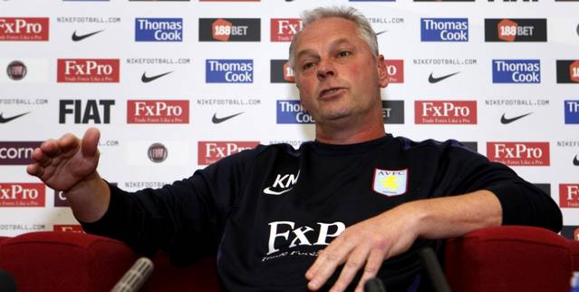 Soccer - Aston Villa Press Conference - Bodymoor Heath Training Complex