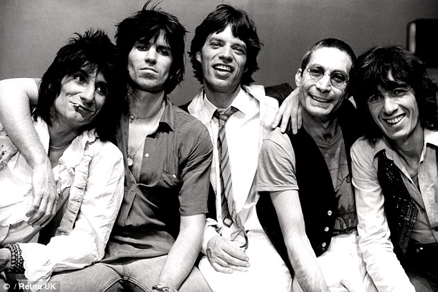 Rockers: The Stones have sold more than 200 million records, with hits including (I Can't Get No) Satisfaction, Street Fighting Man and You Can't Always Get What You Want.