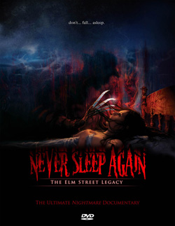 Never Sleep Again: The Elm Street Legacy on DVD (click for larger image)