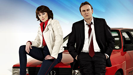Ashes To Ashes: Keeley Hawes and Philip Glenister
