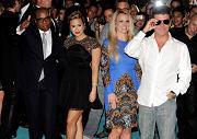 """Jurorzy amerykańskiego """"X Factor"""" pozują przed premierą drugiej edycji"""