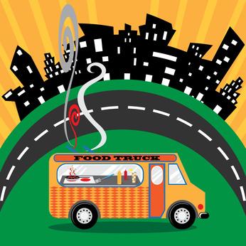 Social Media Account Sharing Food Trucks