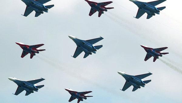 Russian Aerobatic Teams First to Get Su-30SM, Su-35C