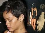 Rihanna shoots music video for Diamonds