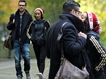 Mamma Mia! Dominic Cooper and girlfriend lock lips in public display of affection