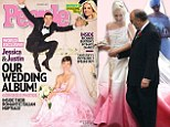 Not another pink wedding dress!