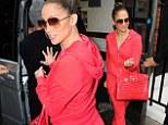 Jennifer Lopez doesn't look like her usual glamorous self