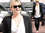 A great excuse for some retail therapy! Reese Witherspoon stocks up on clothes to flatter her post-baby body