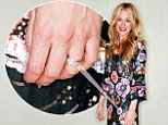Cat Deeley shows off her wedding ring for the first time