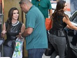 Snacking on a Subway! Kim Kardashian replaces the weekend's fine Italian cuisine with good old American fast food