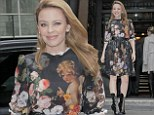 Kylie Minogue looks as lovely as ever