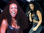 Destiny's Wild: Kelly Rowland goes for a racy look with leather bra top at Mercedes-Benz show