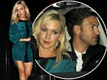 Hot property! Jennie Garth puts on dazzling display in short dress on date night with real estate hunk