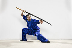 David Colon Performing Miao Dao - Wushu