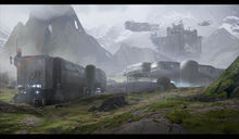Concept art shows off Halo 4's War Games Map Pass  photo