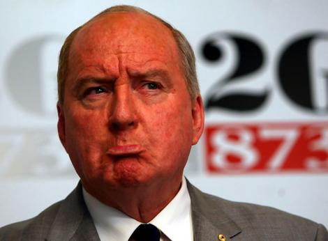 Another ratings drop ... Alan Jones.