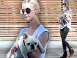 Shocked Ashlee Simpson looks gaunt as she emerges for first time following claims her father is gay