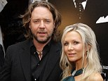 Divorcing: Actor Russell Crowe and his wife Danielle Spencer have separated