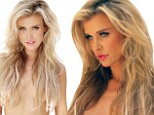 Beautiful inside and out: Joanna Krupa has stripped down for PETA, because she rather go naked than have animals killed for fur