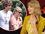 'I don't really know that much about love, it turns out': Taylor opens up about her Swift love life... in interview filmed days before news of Conor split