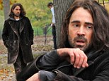 Colin Farrell is down and out in New York as he films scenes for new film Winter's Tale