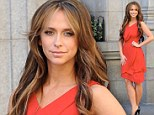 Jennifer Love Hewitt was spotted doing the promos for The Client List Season 2